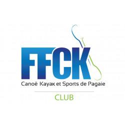 DRAPEAU CLUB FFCK