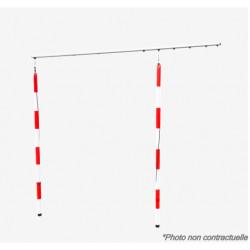 PORTE SLALOM C/K OLYMPIC ROUGE COMPLETE